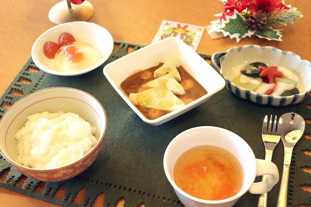 12月の行事食(嚥下食) 東京湾岸リハビリテーション病院