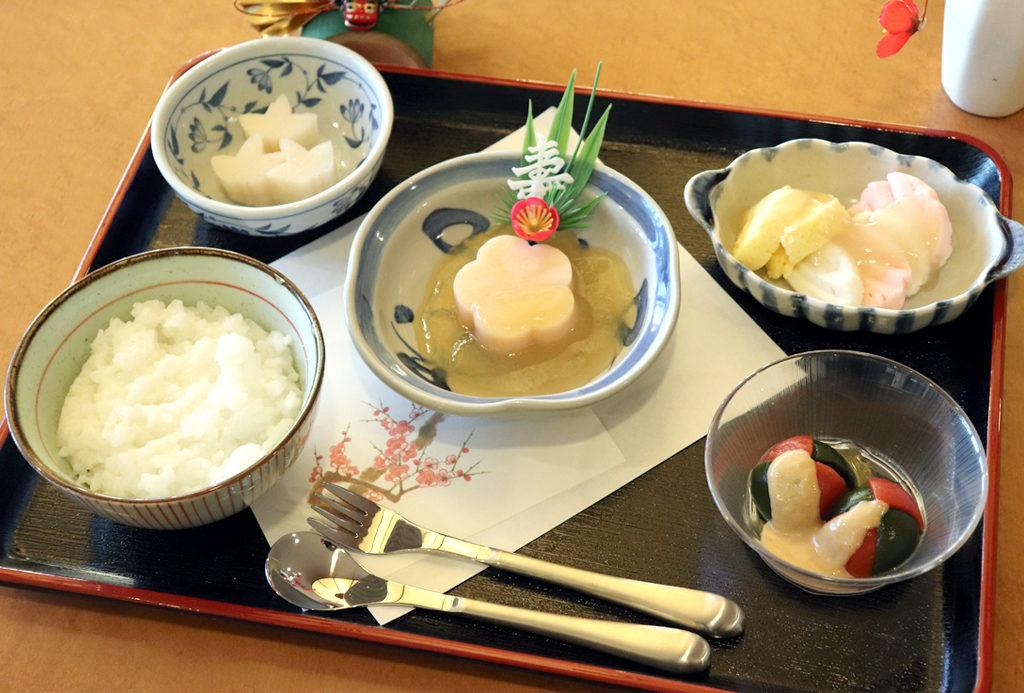 嚥下元日朝食|東京湾岸リハビリテーション病院