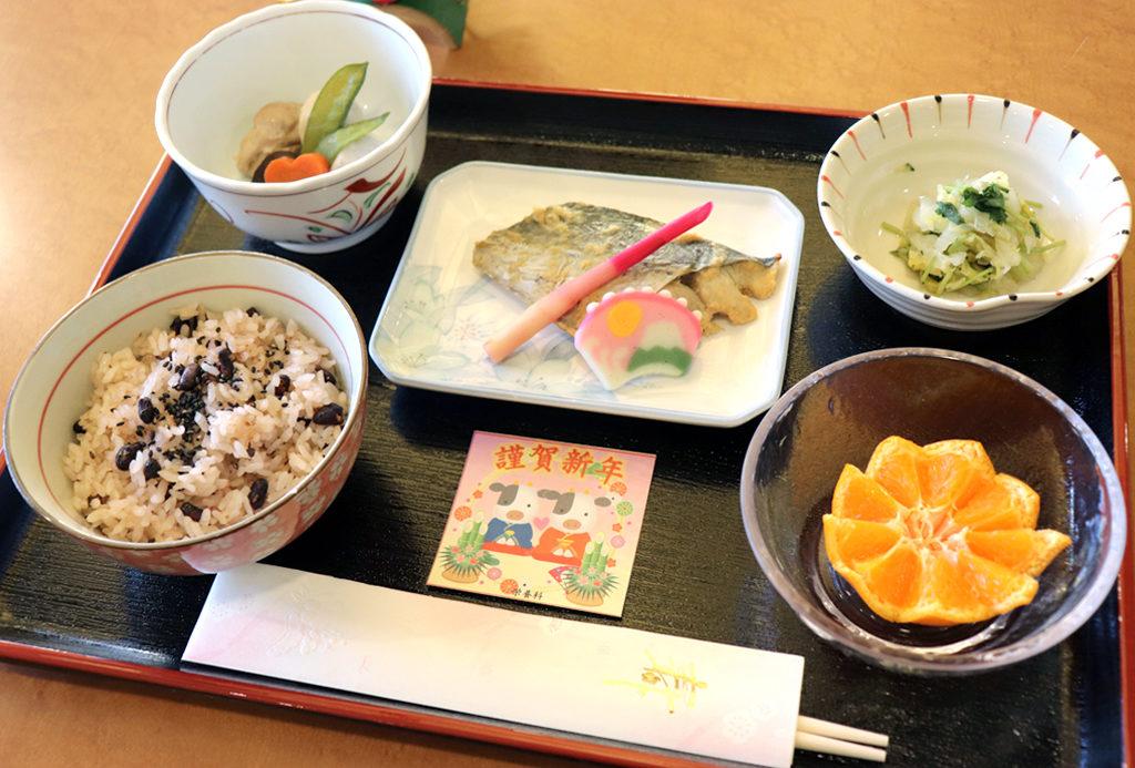 元日昼食|東京湾岸リハビリテーション病院
