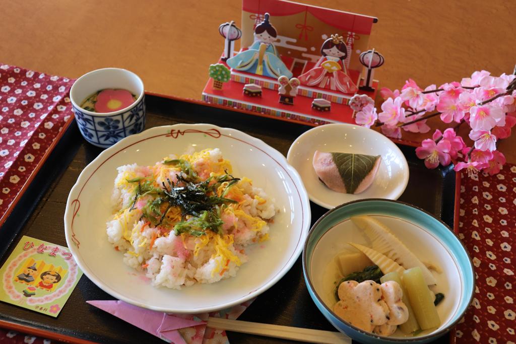 行事食「ひなまつり」|東京湾岸リハビリテーション病院
