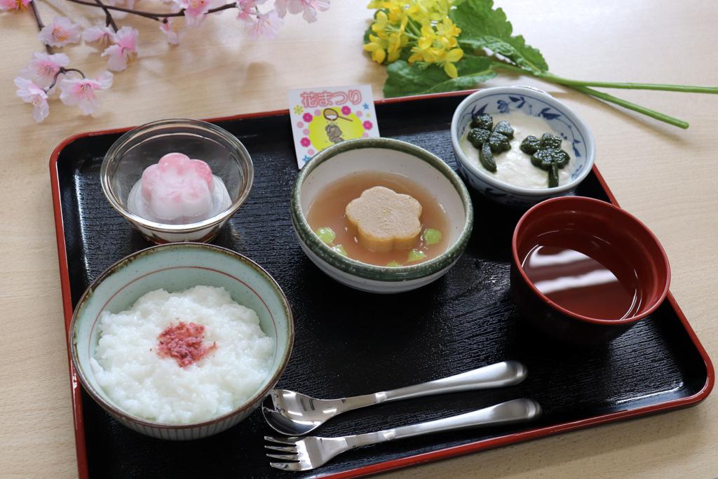 行事食「花まつり」 東京湾岸リハビリテーション病院